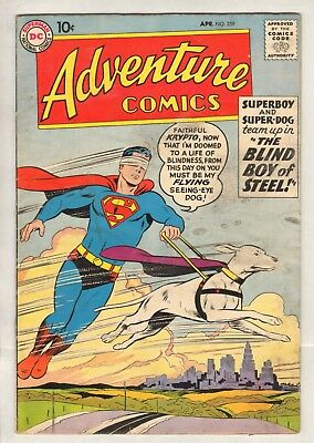 Adventure Comics #259 (GD/VG) (1959, DC)