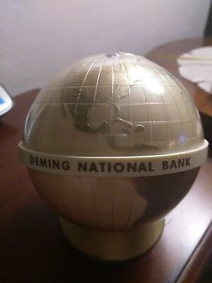 National Westminster Bank Globe Coin Bank MK Made in Finland By Tresmer OY
