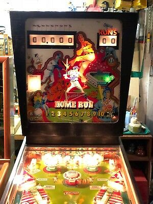 Gottlieb's Home Run Pinball Machine