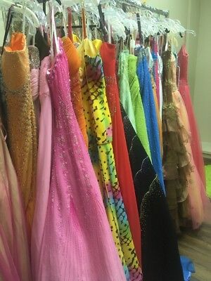 LOT of 5 PROM PAGEANT HOMECOMING SOCIAL FORMAL DRESSES  Dress