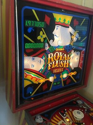 Royal Flush Deluxe Pinball By Gottlieb
