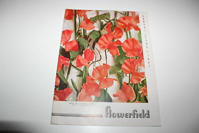 Vintage Flowerfield Annual Seeds Catalog 1947 Flowers Long Island New York
