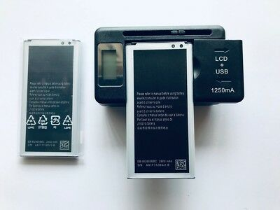 BATTERY OR/& LCD CHARGER FOR SAMSUNG GALAXY S5 i9600 G900 S5 ACTIVE G870A USA