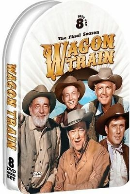 Wagon Train: The Final Season (DVD, 2013, 8-Disc Set, Tin Case)