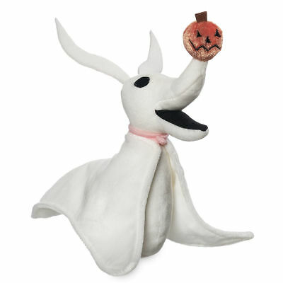 "Disney  Authentic Zero Jack's Dog Nightmare Before Christmas Plush Toy 9"" L"
