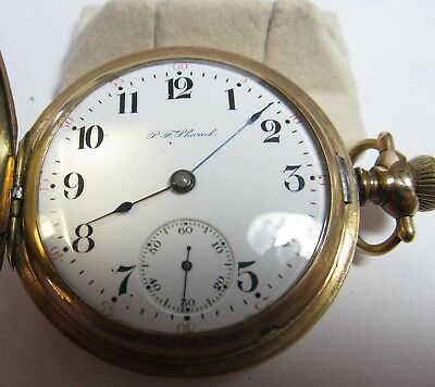 Hamilton Pocket Watch 18 Size 17 Jewel - H.case -Jewelers Model S/n 221018