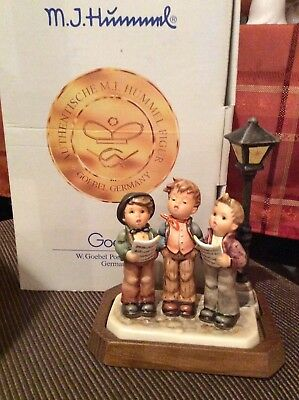 A TUNEFUL TRIO HUM 757 GOEBEL HUMMEL FIGURINE GERMANY 1ST ED #2740 Of 20,000 NEW