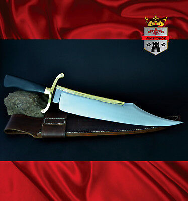 Alamo Musso Bowie Knives, 084S Musso Bowie KingForge, Iron mistress blade weapon