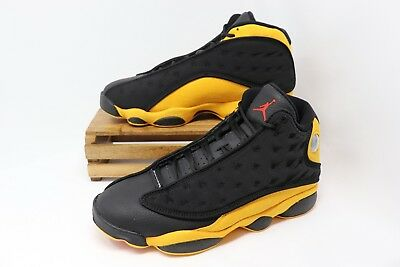 Nike Air Jordan 13 XIII Retro Melo Black Yellow Red Class of 2002 414571-035 NEW
