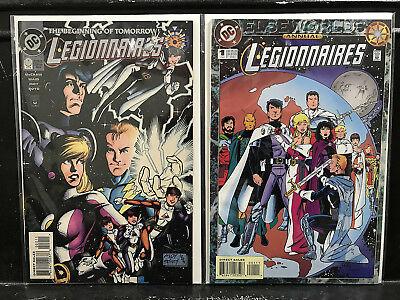 Lot of 2 Legionnaires #0 + Annual #1 (1992 DC) Combined Shipping Deal!