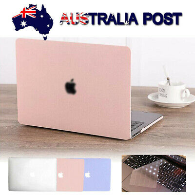 "Hard Rubberized Case Shell Cover Keyboard Protector fr MacBook Air 13"" A1932 Pro"