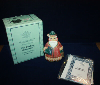 "G. Debrekht ""librarian Santa"" Gift Givers Series #51784-2  Limited Edition 2003"