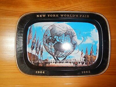 New York World's Fair, 1964-1965, Unisphere By United States Steel,  Plate/tray