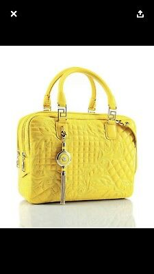 84a23238ef28 Yellow versace bag