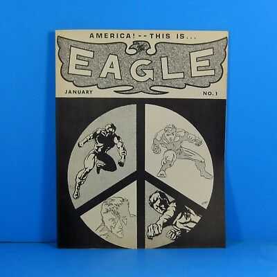 Early Jim Starlin!  The Eagle fanzine published by Texas Trio. FN+ 6.5