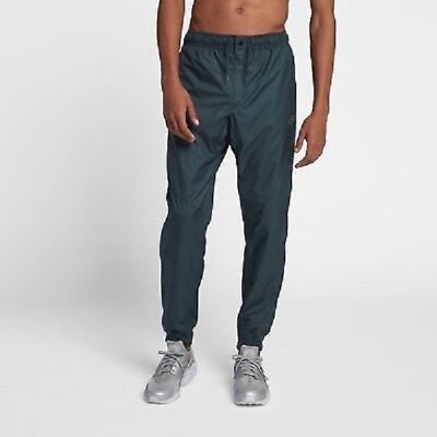 Mens Nike Windrunner Cuffed Jogger Pants Sequoia Green Medium $85 NWT AT5272 355