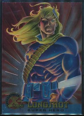 1995 X-Men Ultra All-Chromium Trading Card #54 Longshot