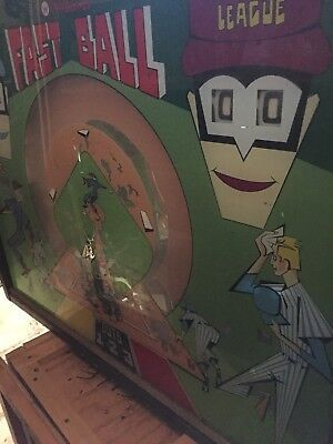 "Williams ""Fast Ball"" Pitch And Bat EM Machine + 2 other EM PINS $375.00 total"