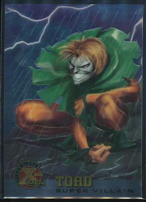 1995 X-Men Ultra All-Chromium Trading Card #79 Toad