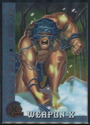 1995 X-Men Ultra All-Chromium Trading Card #82 Weapon X