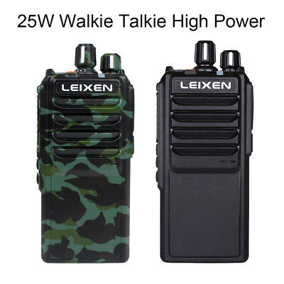 CRYSTAL 5 WATT 80 Channel Uhf Handheld Radio 2 Way Radio Cb Die Cast