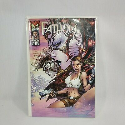 Michael Turner's FATHOM #12  Tomb Raider Top Cow 2000 Great Condition C13