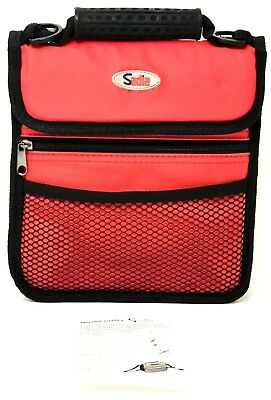 SADIA Heavy Duty Insulated Lunch Box - Stays Cool  Expandable w/Adjustable Strap