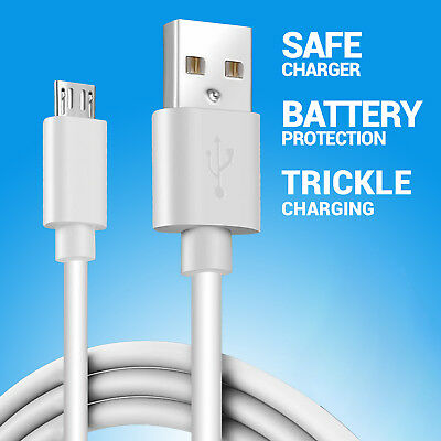 2 x CRAZY Micro USB Cable FAST Data Charger for Samsung Galaxy S7 Edge S6 S5 HTC
