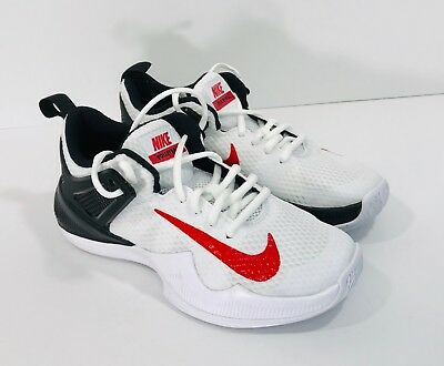7a6ba27e6ac0f Nike Air Zoom HyperAce Volleyball Shoes Women s Size 5 White Red 902367-106  NEW
