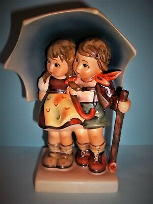 "Hummel Stormy Weather Figurine #71 ~ 6 1/4"" Tall ~Tmk 6~Mint"
