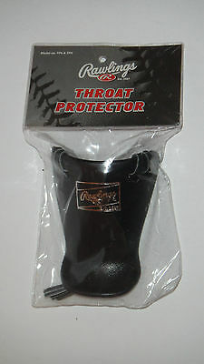 BRAND NEW Rawling's Catcher's Throat Guard Protector Umpire Navy Blue