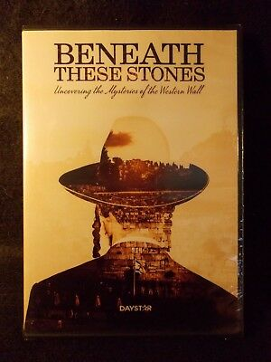Beneath These Stones (DVD 2017) Uncovering The Mysteries of the Western Wall NEW