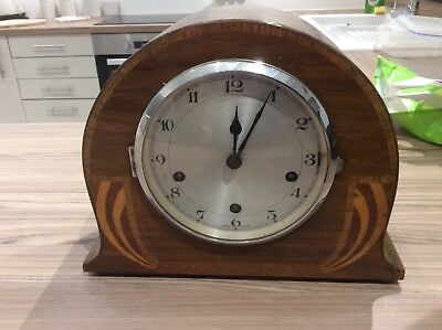 Vintage rare mantel chime clock watch old bicknill wall show hall clock Made in
