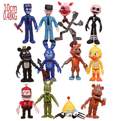12Pcs/Pack FNAF Five Nights at Freddy's Action Figures Toys Kids Xmas Gift Toy