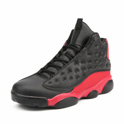 Mens Fashion Athletic Sneakers Cross Training Shoes High Top Basketball Shoes
