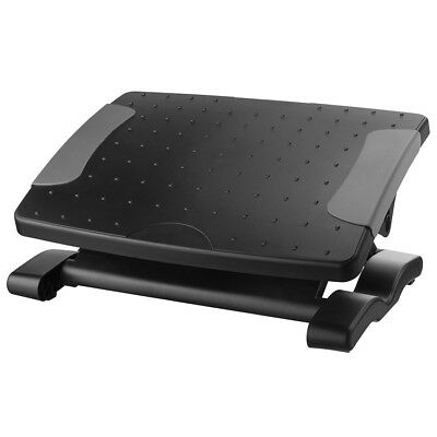 Height Adjustable Footrest, Black
