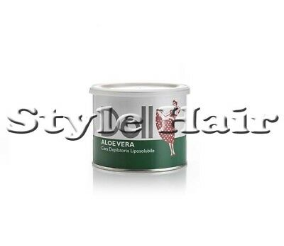 "Ceretta Cera Depilatoria "" Doll "" Liposolubile Aloe Vera  Barattolo  Da 400 Ml"