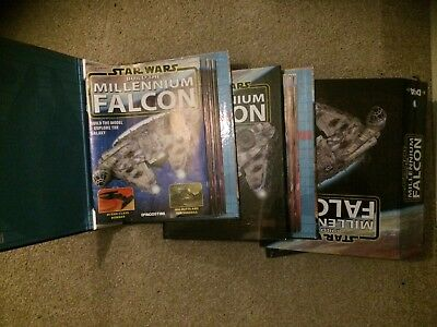 Star Wars Deagostini Build the Millennium Falcon MAGAZINES AND BINDERS ONLY