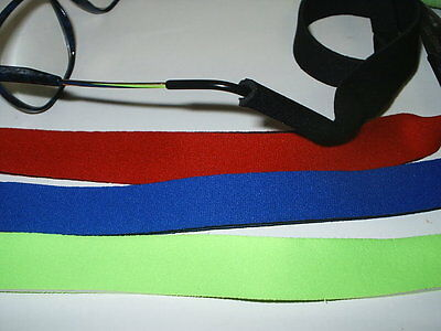 Neoprene Sports  Glasses Head Bands  4 Colours Available
