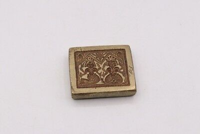 Antique Original Brass Die Mold Collectible INDIA GOD VINTAGE COLLECTIBLE D3