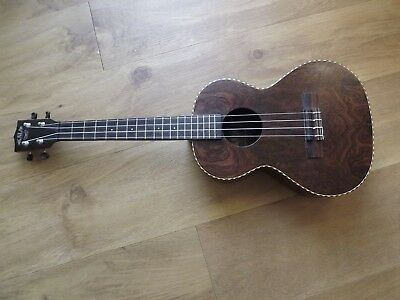 Kala Ka-Bft Limited Edition Bocote Butterfly Tenor Ukulele And Hard Case