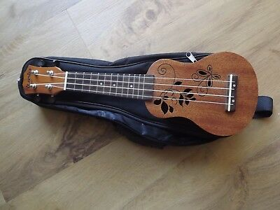 Rubin Tiny Sopranino Ukulele With Case