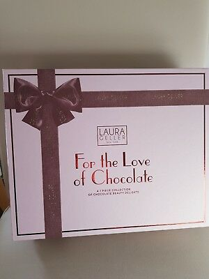 Laura Geller For the Love of Chocolate 7-piece collection NEW IN BOX LIGHT