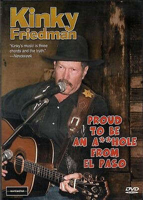 Kinky Friedman-Proud to Be An A**hole-DISC ONLY