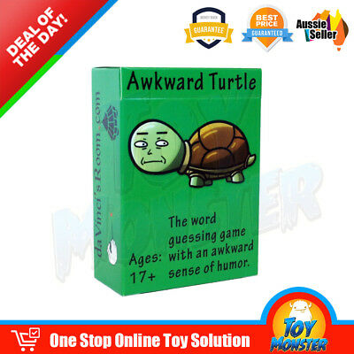 OZ Awkward Turtle Board Party Cards Game New