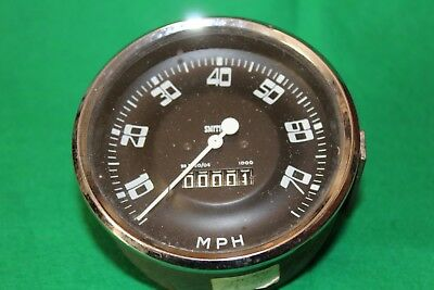 Smiths 0 - 70 MPH 4 Inch Speedo Appears To Be New Old Stock