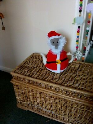 Hand Knitted Father Christmas Tea Cosy