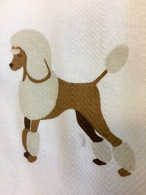 Poodle And Friends Dish/Hand Towels 2 Piece