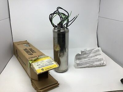 "Franklin 2445079004 Stainless Well Pump Motor 4"" 0.75 HP 230V 2-Wire 3450 RPM"