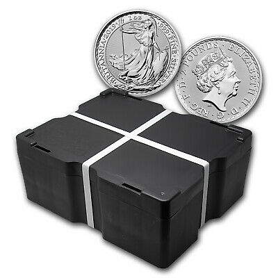 2019 500-Coin 1 oz Silver Britannia Monster Box BU - SKU#175721
